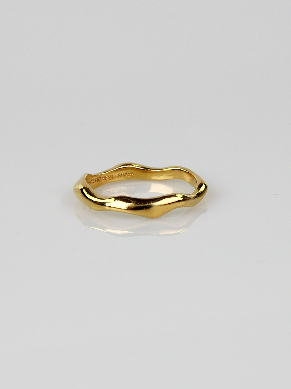 Wave Thin Ring
