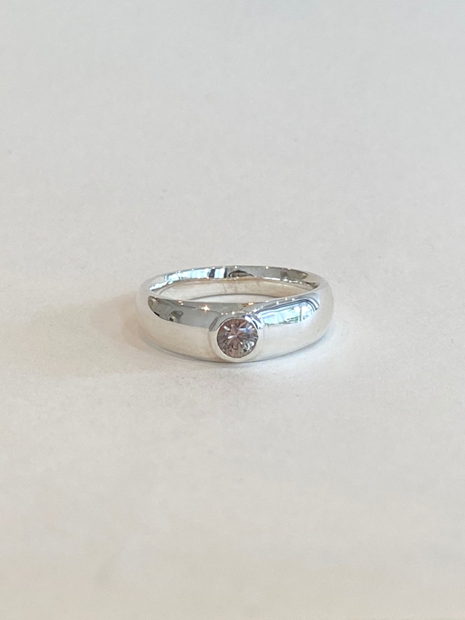 Volume Ring - Multi Sapphire (gray brown)
