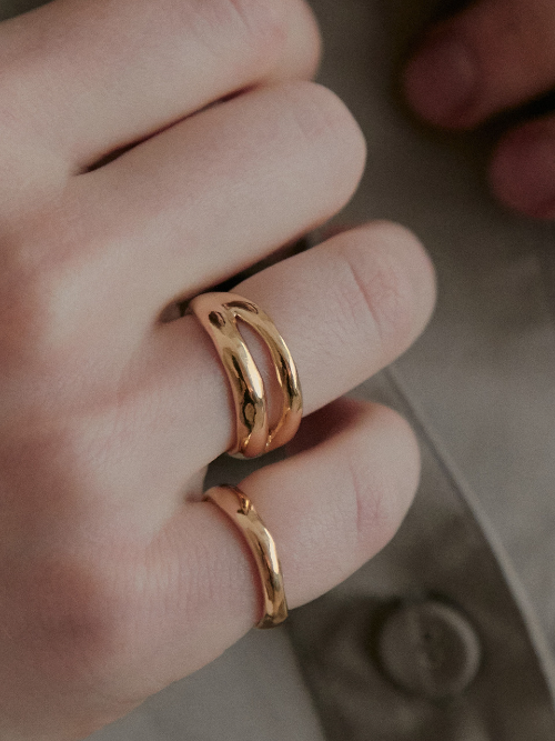 Double Line Ring (baby ver.)